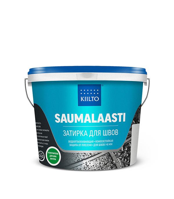 Затирка Kiilto Saumalaasti №41 средне-серый 3 кг затирка для плитки plitonit серая 20 кг