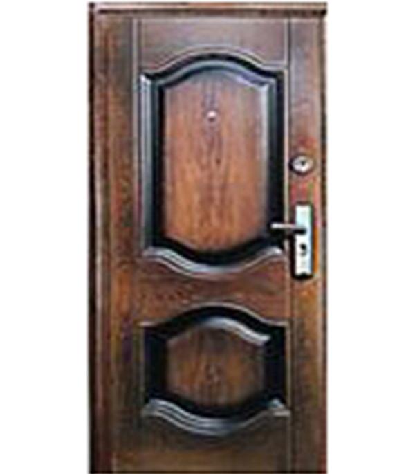 Дверь металлическая Kaiser К-550-2 860х2050 мм левая дверь входная металлическая спектра сталь 860 мм правая