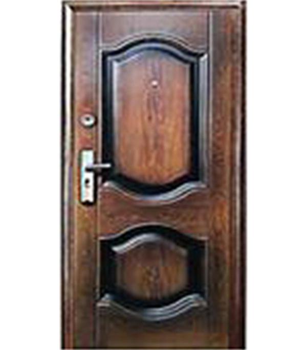 Дверь металлическая Kaiser К-550-2 860х2050 мм правая дверь входная металлическая спектра сталь 860 мм правая