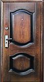 Дверь металлическая  К-550-2  Kaiser   860x2050 мм правая