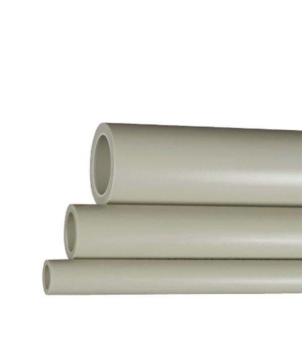 Труба полипропиленовая 25х2000 мм, PN 20 FV-PLAST серая  труба полипропиленовая 25х2000 мм pn 20 серая
