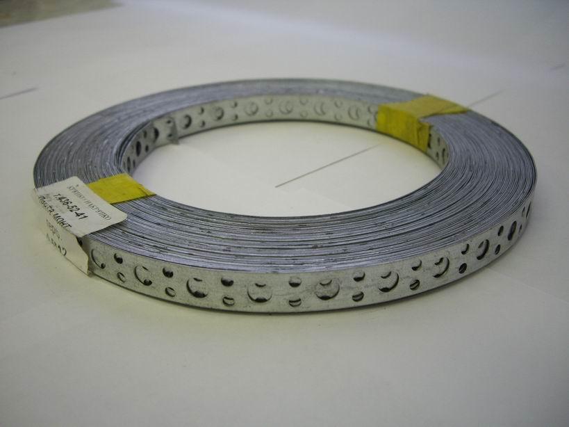 Лента крепежная (перфорированная) ЛСП 12х0,5 мм (25 м)