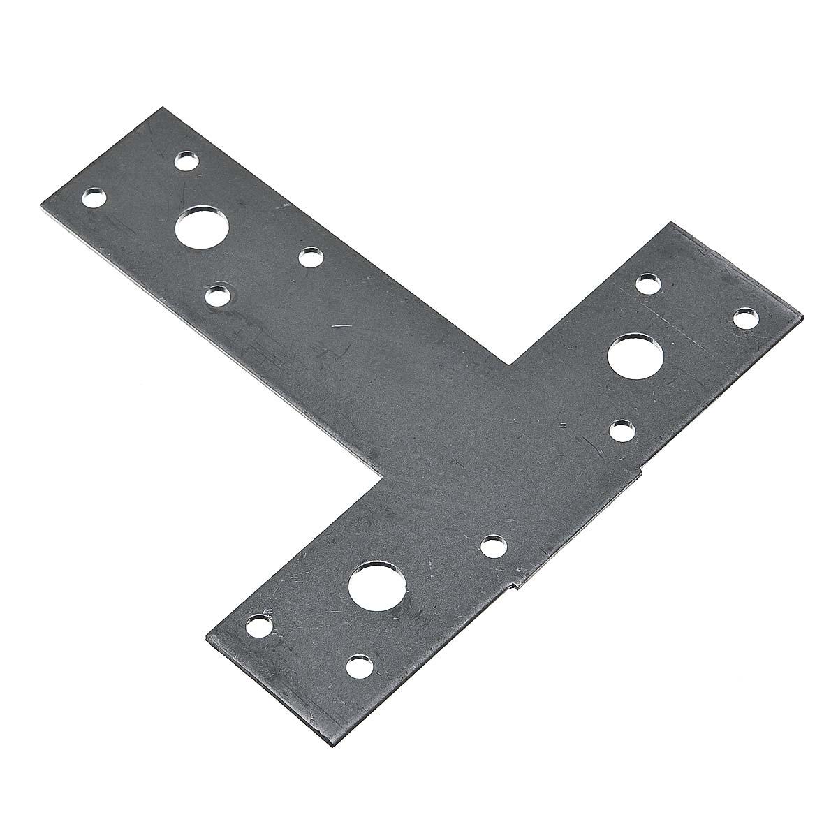 Пластина Т-образная оцинкованная 35х135х135х2 мм