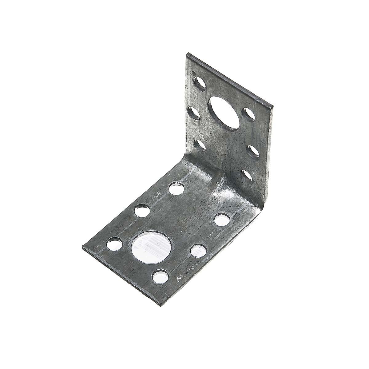 Уголок крепежный усиленный оцинкованный  50х50х36х2 мм