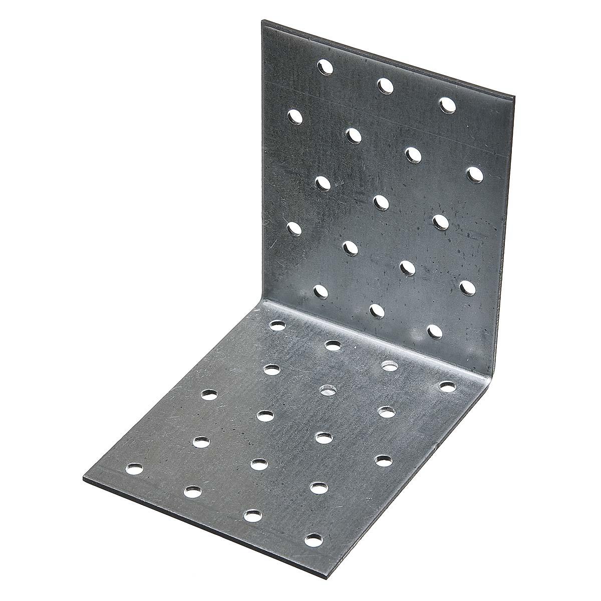 Уголок соединительный оцинкованный 100х100х 80х2 мм
