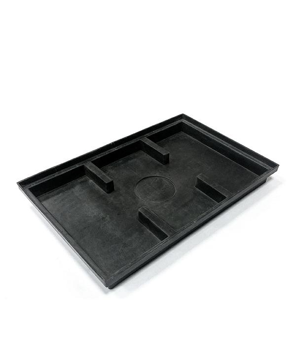 Поддон пластиковый для решетки придверной Gidrolica 400х600 мм решетка водоприемная 1000х136 мм стальная оцинкованная гидролика