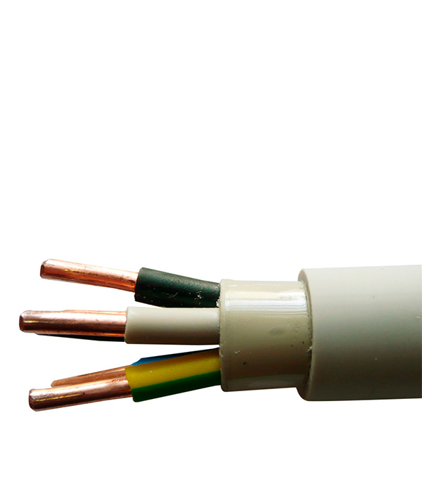 Кабель NYM 5х1.5 Севкабель 100 м кабель nym j 3х6 0 5м гост