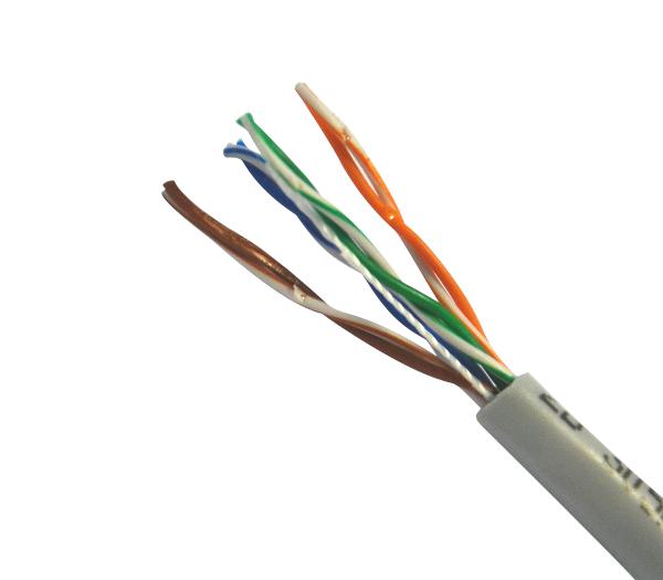 Кабель компьютерный UTP 4х2х0,52 5е