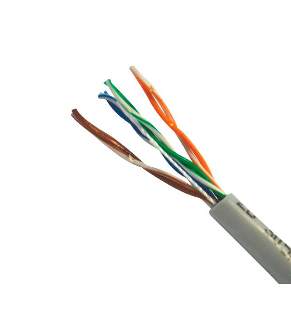 Кабель компьютерный UTP 4х2х0.52 5е кабель компьютерный utp 4х2х0 52 5е 305 м