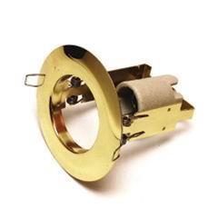 Светильник встраиваемый круглый золото 1хR63 (220В), IP20, WL-271