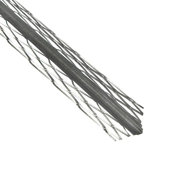 Профиль углозащитный штукатурный сетчатый Протектор (оцинкованный) 34х34 мм, 3 м