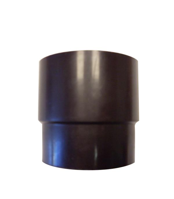 Муфта водосточной трубы пластиковая d100 коричневая  Murol