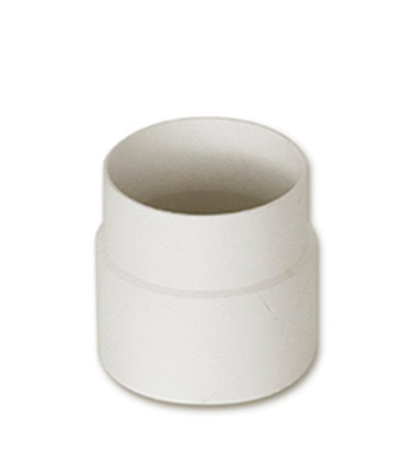 Муфта водосточной трубы  пластиковая d100 белая  Murol