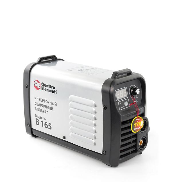 Сварочный аппарат (инвертор) Quattro Elementi B 165, 220В, 165А, ПВ 80%, до 4.0 мм, дисплей