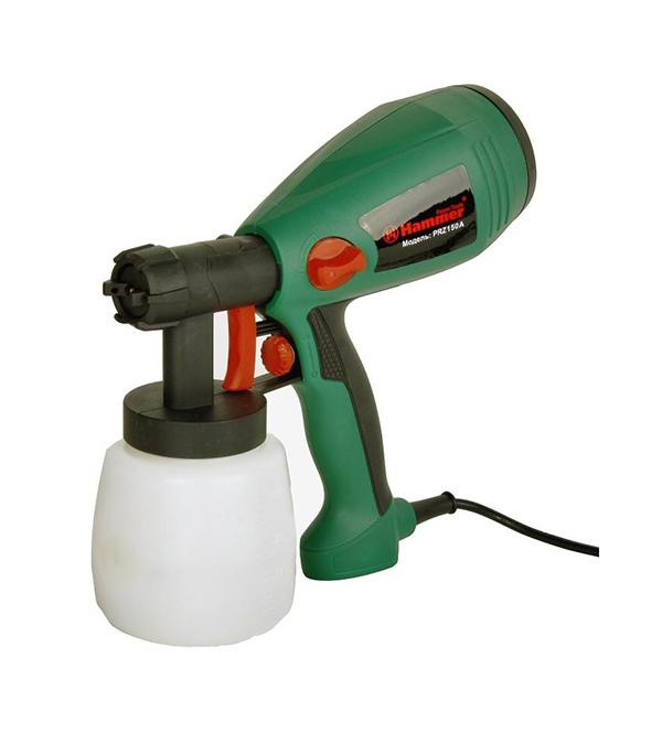 Краскораспылитель (краскопульт) 300 Вт, 0,8 л, 0-300 г/мин PRZ150A Hammer Flex