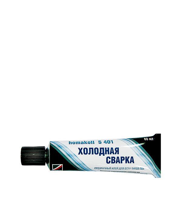 Клей для напольных покрытий холодная сварка Homakoll S401 60 мл