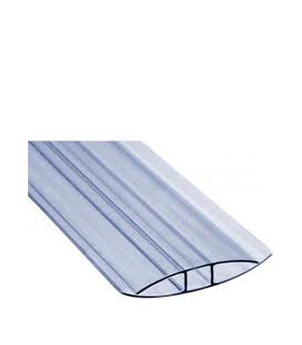 где купить  Профиль для поликарбоната соединительный Н-образный 6-8 мм 6000 мм  по лучшей цене