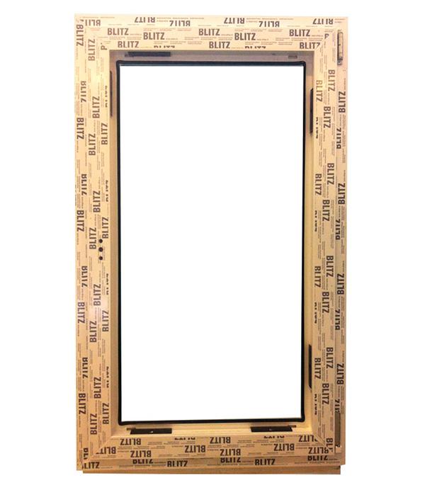 Окно металлопластиковое белое  Rehau Blitz 1160х720 мм поворотно - откидное правое