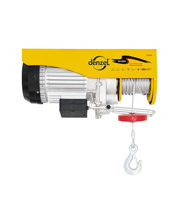 Тельфер электрический Denzel 900 Вт 500 кг цепной тельфер matrix 519845