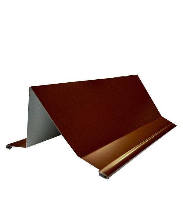 Снегозадержатель уголковый 2 м коричневый RAL 8017