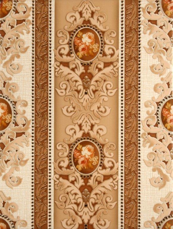 Плитка декор 250х330х7 мм Текстиль светло-бежевый 1