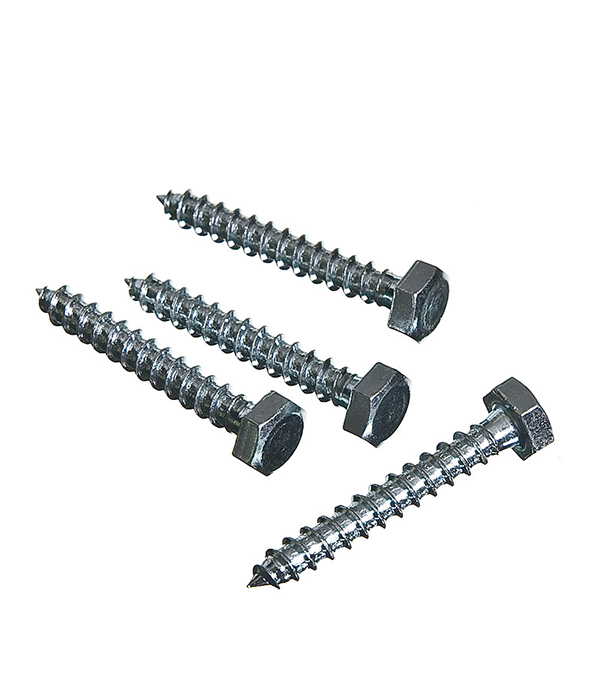Болты сантехнические оцинкованные 6х40 мм DIN 571 (4 шт) болты сантехнические оцинкованные 6х70 мм din 571 40 шт