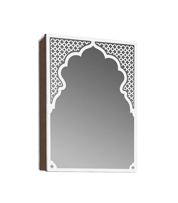Шкаф зеркальный Фламенко 610 мм