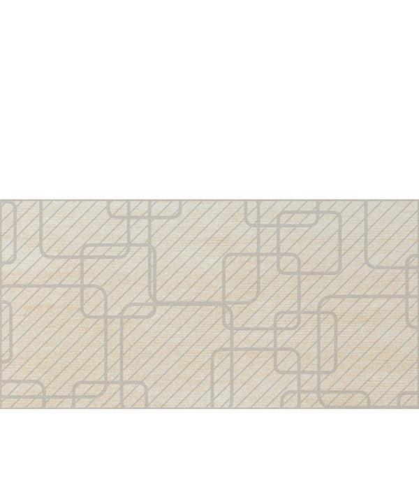 Керамогранит декор 198x400х9 мм Linen светло-бежевый/Грасаро