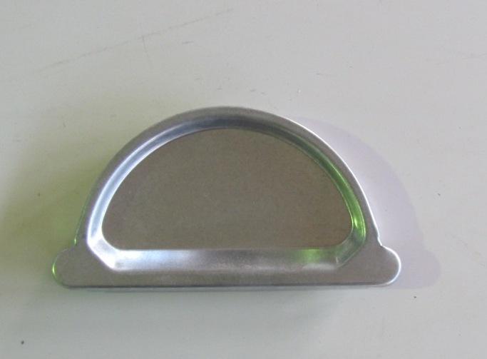 Заглушка желоба оцинкованная D-125