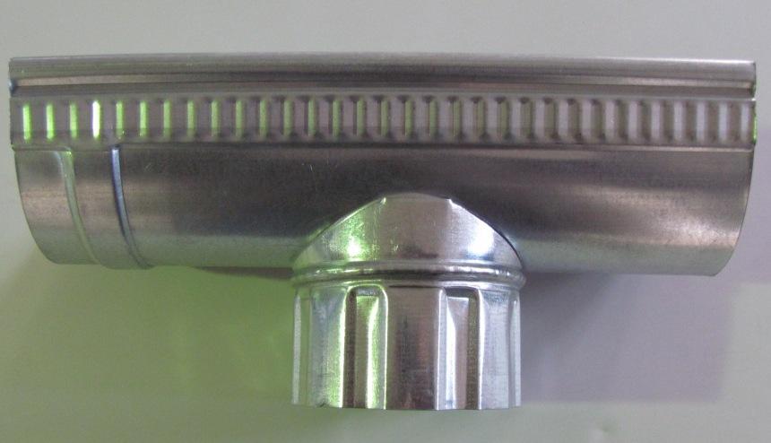 Канадка универсальная оцинкованная D-125 мм