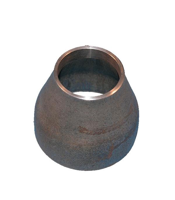 Переход под сварку Ду108х76 кованый стальной черный