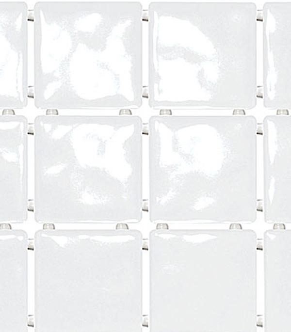 Плитка облицовочная 300х400х9 мм Бриз белый полотно (8 шт = 0,94 кв.м)