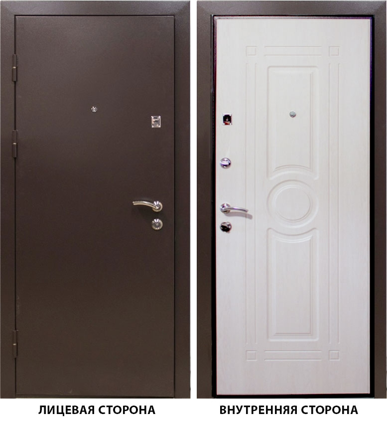 Дверь металлическая   Тонус 300  860x2050 мм левая