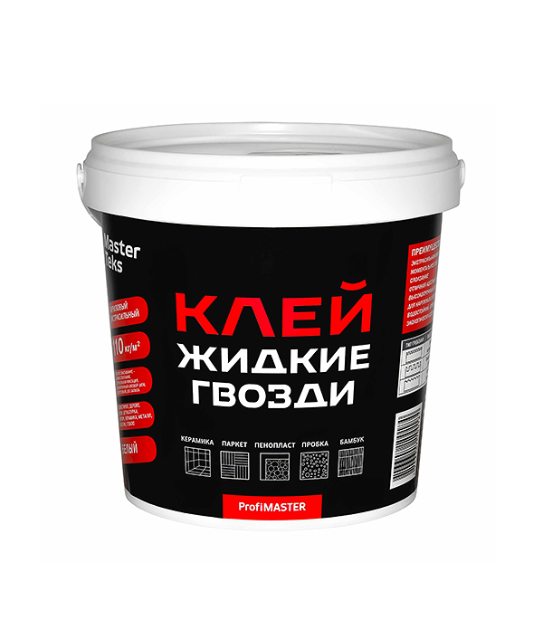 Жидкие гвозди Мастертекс экстрасильный 1,5 кг