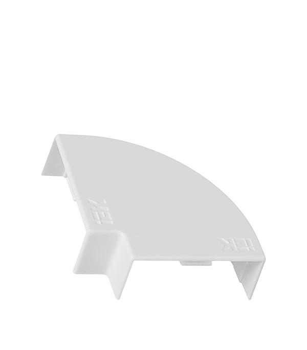 Угол плоский для кабель-канала 40x16 мм белый (4 шт.)