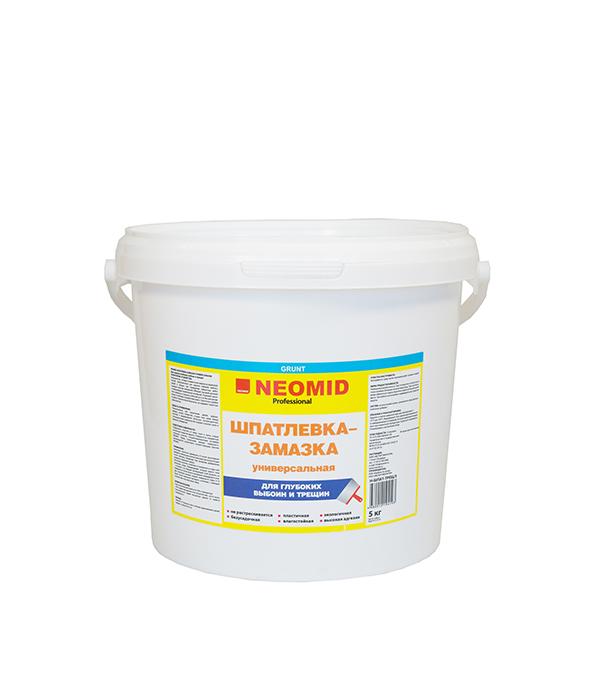 Шпатлевка-замазка универсальная Neomid 5 кг