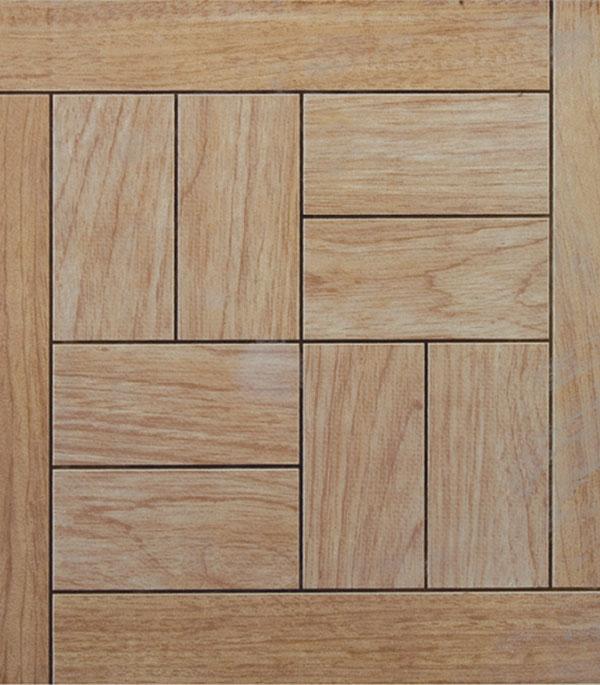 Плитка напольная Паркет 327х327х8 мм с металлизацией ольха (13 шт=1.39 кв.м) плитка вкз лаура зеленая в спб