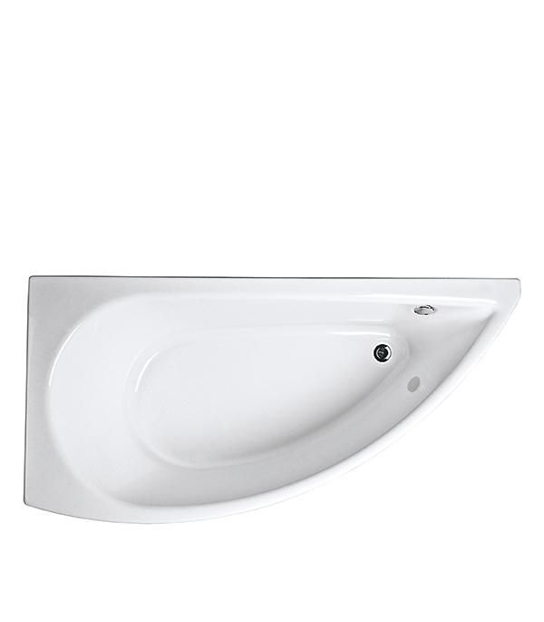 Ванна акриловая Piccolo ассиметричная левая 1500х750 мм акриловая ванна triton изабель левая