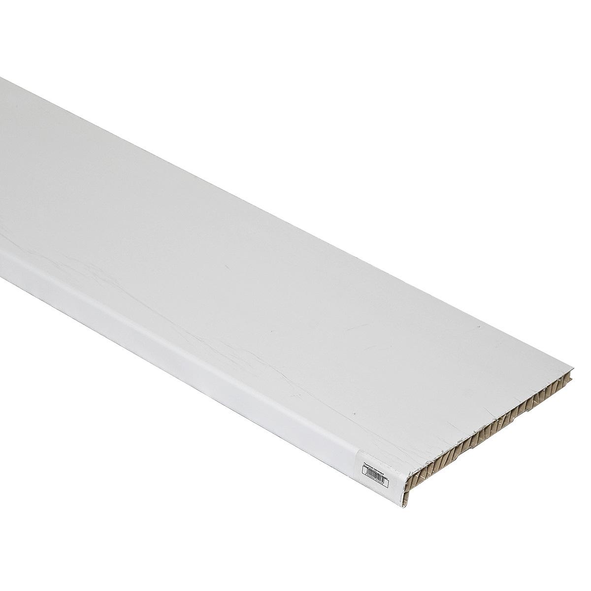 Подоконник пластиковый белый 300х2000 мм Стандарт