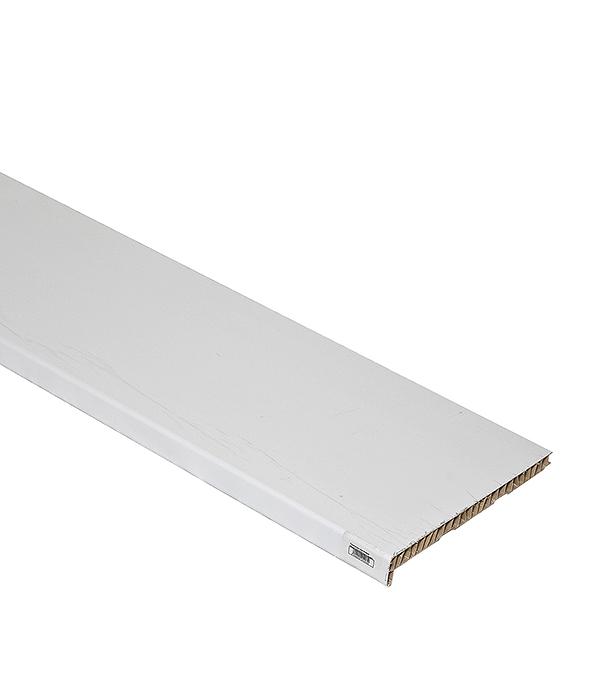 Подоконник пластиковый Стандарт 300х3000 мм белый монтажная пена летняя makroflex whiteteq белая 750мл