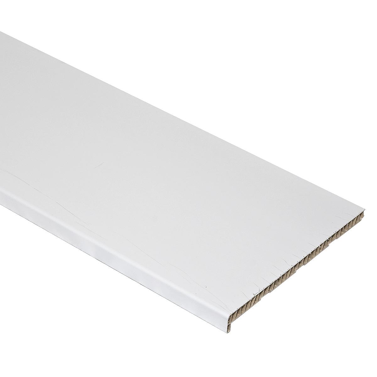Подоконник пластиковый белый 400х3000 мм Стандарт