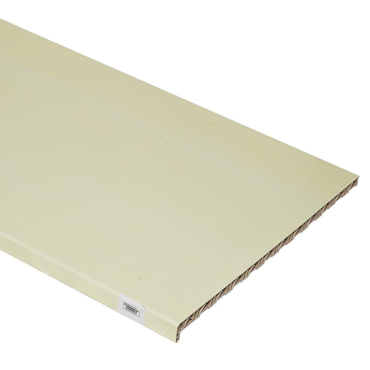 Подоконник пластиковый белый 600х3000 мм Стандарт