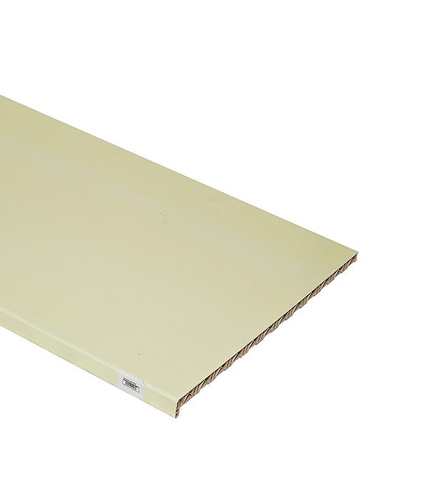 Подоконник пластиковый Стандарт 600х3000 мм белый