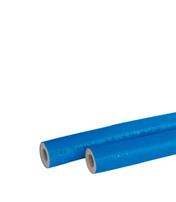 Теплоизоляция для труб 35х4 мм синяя (бухта 11 м)