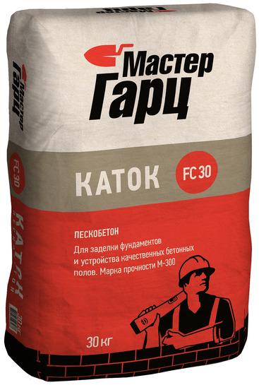Пескобетон М-300 Каток Мастер Гарц, 30 кг
