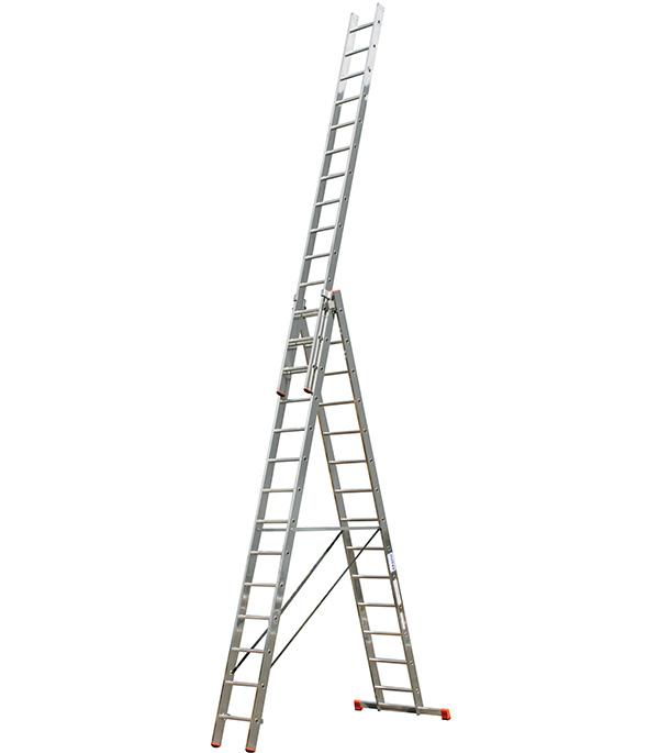 Лестница 3-х секционная профессиональная 3х14 Krause Профи
