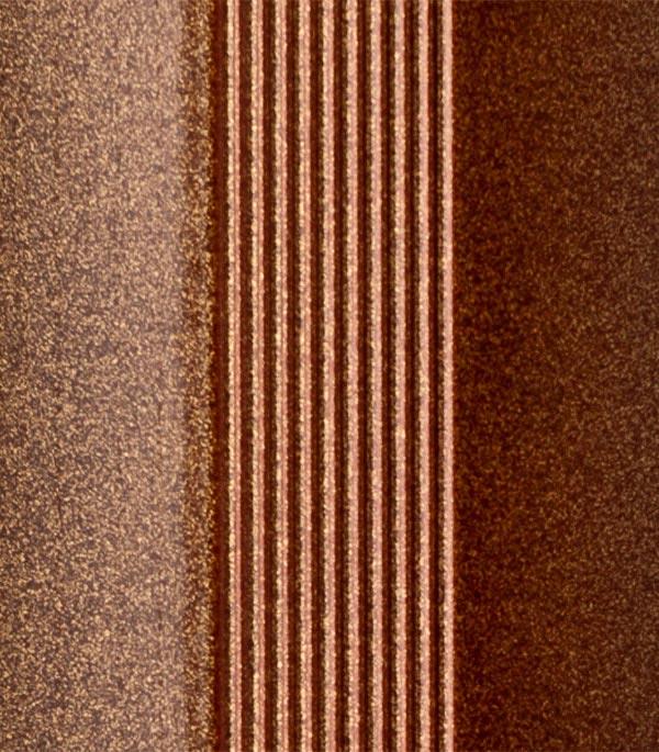 Порог разноуровневый 40х1800 мм перепад до 10 мм бронза