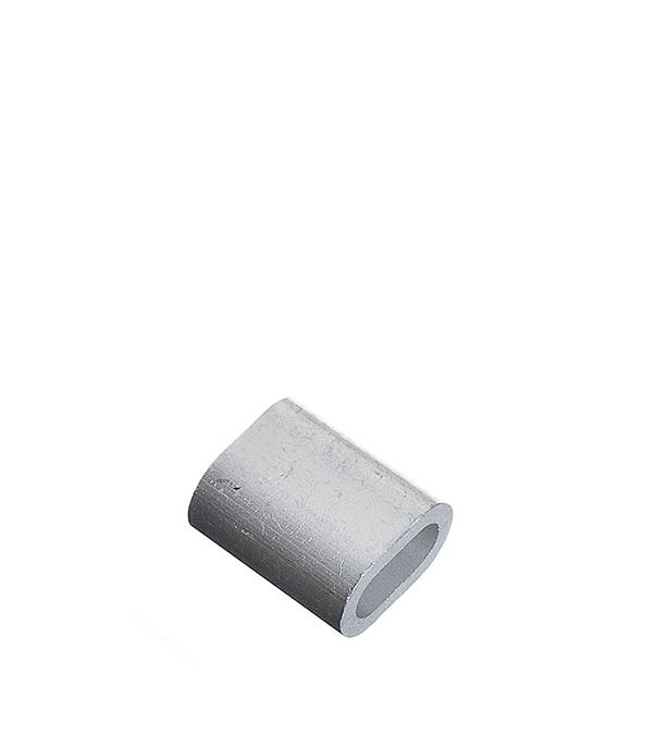 Зажим (наконечник) троса прижимной 6 мм DIN 9093 (1 шт.)
