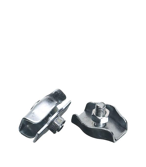 Зажим троса Simplex 3 мм (2 шт) ключ разводной хромированный truper 20 3 см
