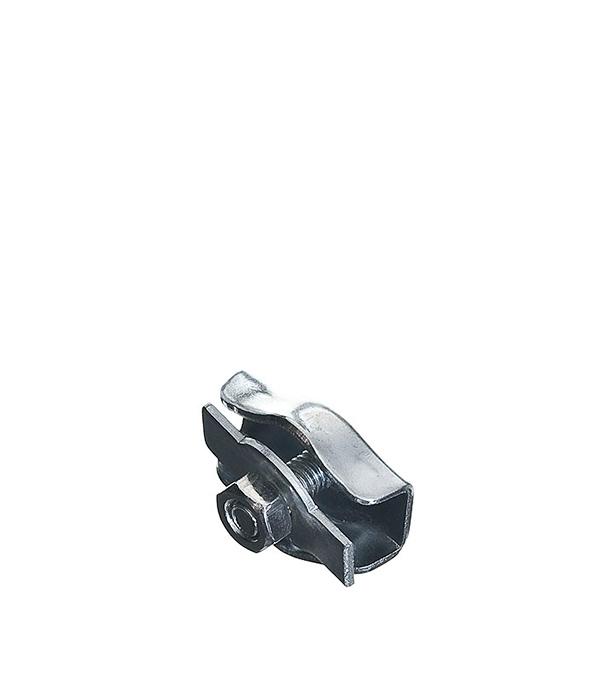 Зажим троса Simplex 5 мм ключ разводной хромированный truper 20 3 см